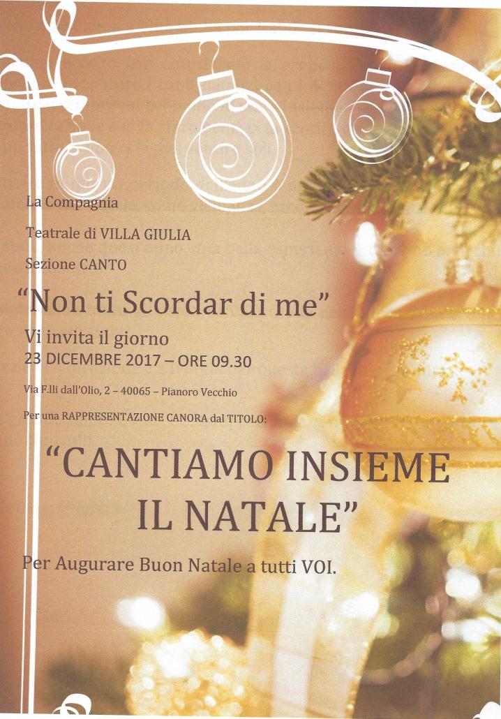 Cantiamo insieme il Natale a Villa Giulia